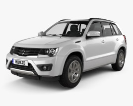 3D model of Suzuki Grand Vitara 5-door 2012
