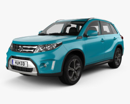 3D model of Suzuki Vitara (Escudo) with HQ interior 2015
