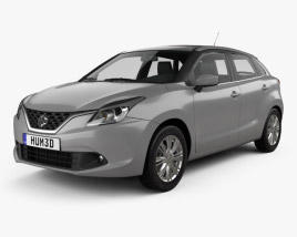 3D model of Suzuki Baleno 2015