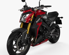 3D model of Suzuki GSX-S1000 2015