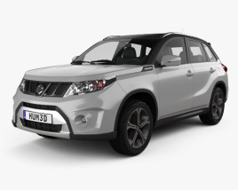 3D model of Suzuki Vitara S 2015