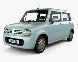 3D model of Suzuki Alto Lapin 2008