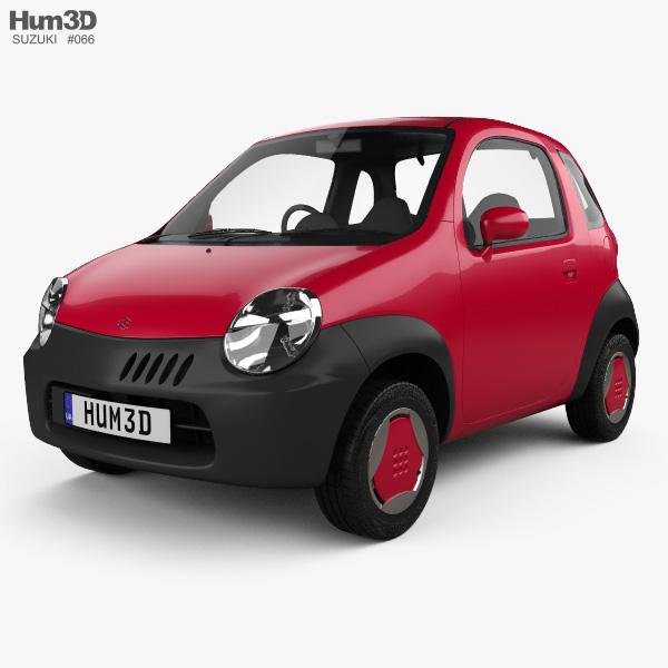 Suzuki Twin 2003 3D model