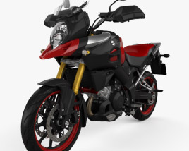 3D model of Suzuki V-Strom 1000 2013