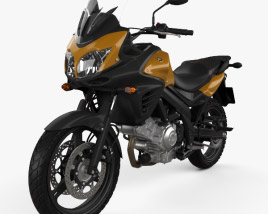 3D model of Suzuki V-Strom 650A 2015