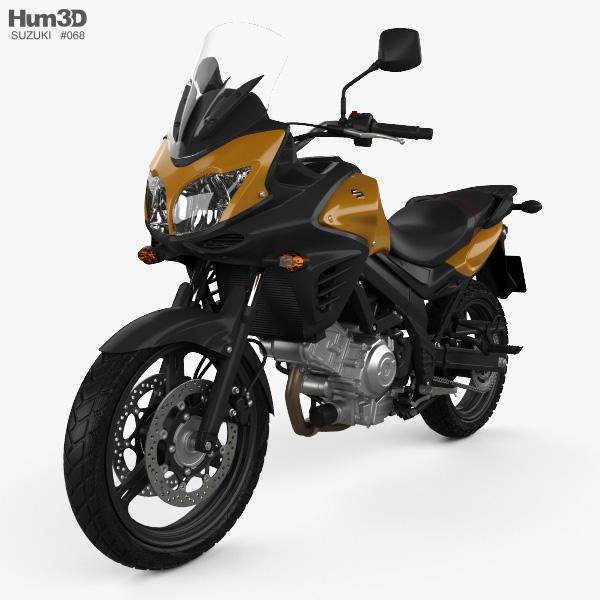 Suzuki V-Strom 650A 2015 3D model