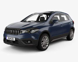 3D model of Suzuki SX4 S-Cross 2016