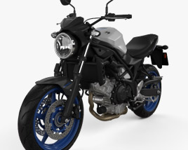 3D model of Suzuki SV650 2017