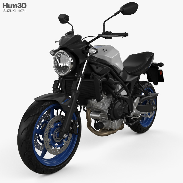 Suzuki SV650 2017 3D model
