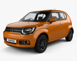 3D model of Suzuki Ignis Hybrid 2016
