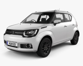 3D model of Suzuki Ignis 2016