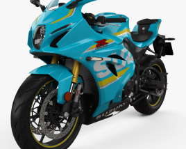 3D model of Suzuki GSX-R1000 2017