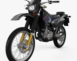 3D model of Suzuki DR-Z400S 2017