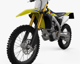 3D model of Suzuki RM-Z450 2018