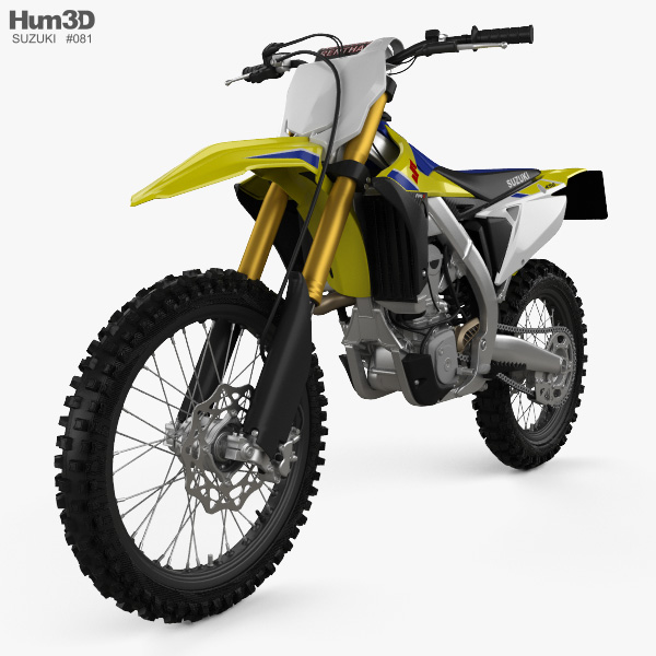 Suzuki RM-Z450 2018 3D model