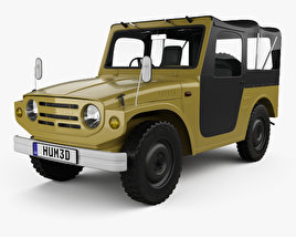 3D model of Suzuki Jimny 1970