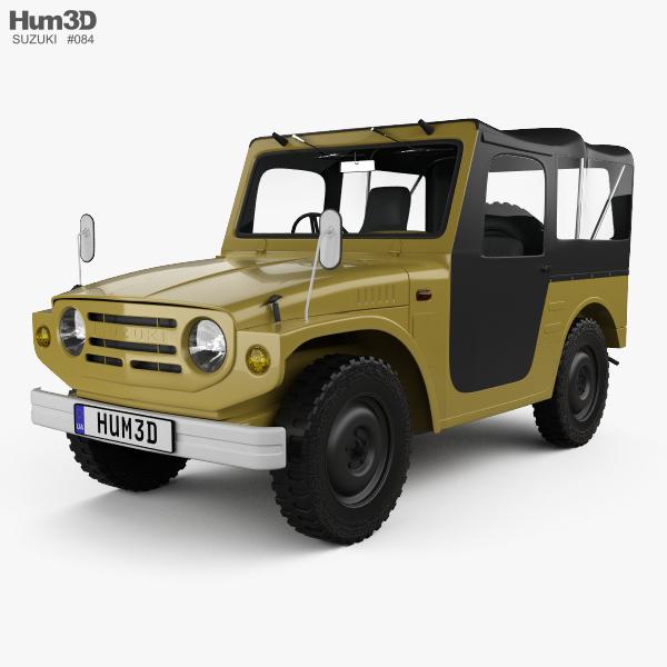 3D model of Suzuki Jimny 1970