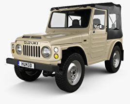 3D model of Suzuki Jimny 1977
