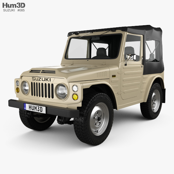 3D model of Suzuki Jimny 1977