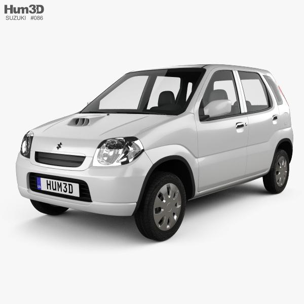 Suzuki Kei 5-door 2000 3D model