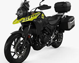 3D model of Suzuki V-Strom 250 2017