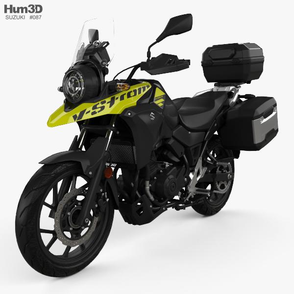 Suzuki V-Strom 250 2017 Modelo 3d