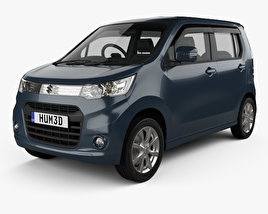 3D model of Suzuki Wagon R Stingray T 2012