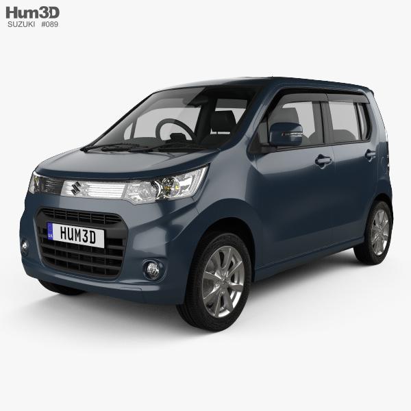 Suzuki Wagon R Stingray T 2012 3D model