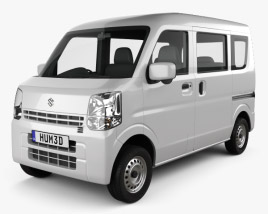 3D model of Suzuki Every 2015