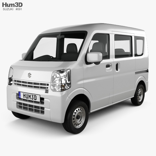 Suzuki Every 2015 3D model