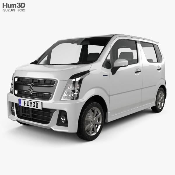 Suzuki Wagon R Stingray Hybrid 2018 3D model