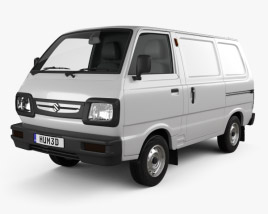 3D model of Suzuki Omni Cargo Van 2016
