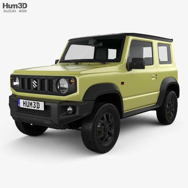 3D model of Suzuki Jimny Sierra 2019