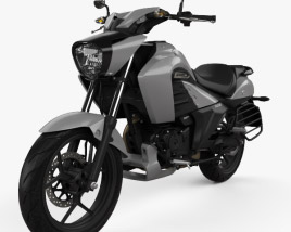 3D model of Suzuki Intruder 150 2018