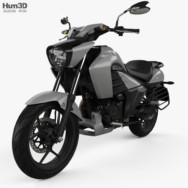 Suzuki Intruder 150 2018 3D model