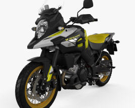 3D model of Suzuki V-Strom 1000 2018