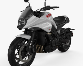 3D model of Suzuki Katana 1000 2019