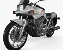 3D model of Suzuki GSX-1100S Katana 1981