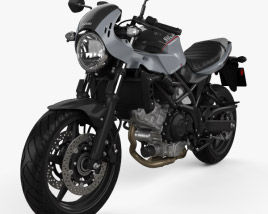3D model of Suzuki SV650X 2018
