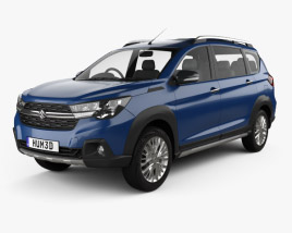 3D model of Suzuki Maruti XL6 2019