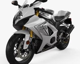 3D model of Suzuki GSX-R1000 2008