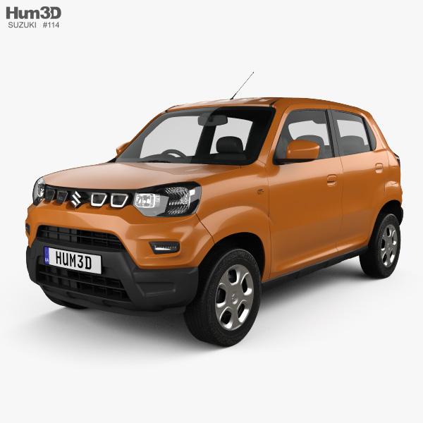 3D model of Suzuki Maruti S-Presso 2019