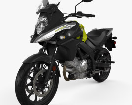 3D model of Suzuki V-Strom 650 2020