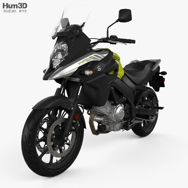 3D model of Suzuki V-Strom 650 2020