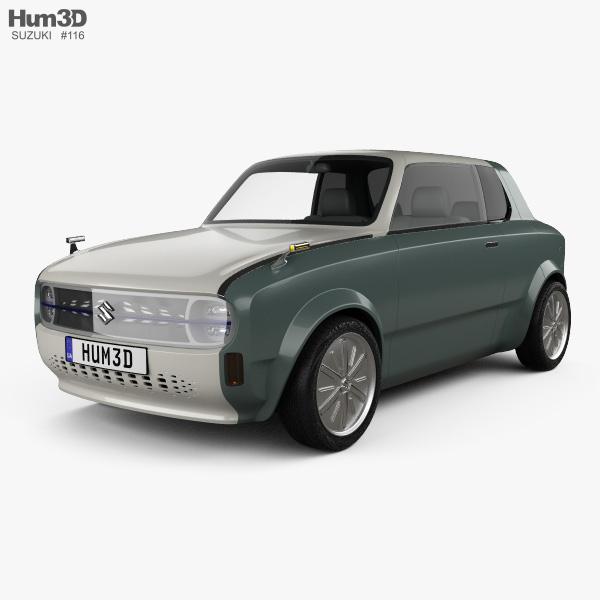 3D model of Suzuki Waku Spo 2019