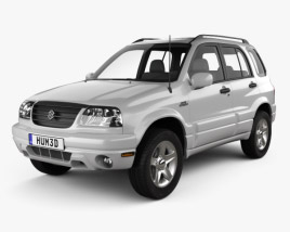 3D model of Suzuki Grand Vitara 5-door 2006