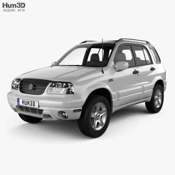 3D model of Suzuki Grand Vitara 5-door 2006