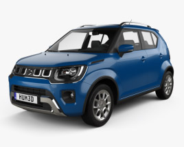 3D model of Suzuki Ignis 2020