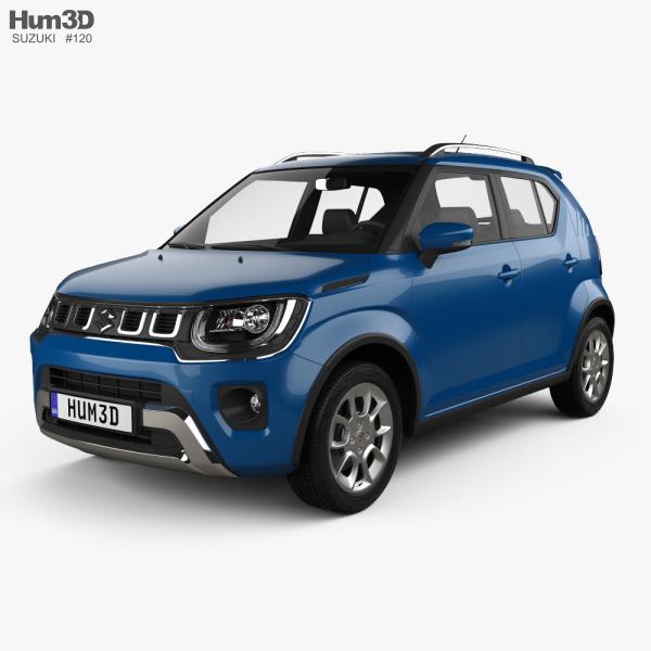 3D model of Suzuki Ignis 2020