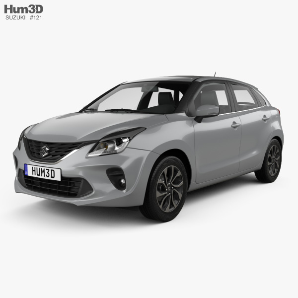 3D model of Suzuki Baleno 2019